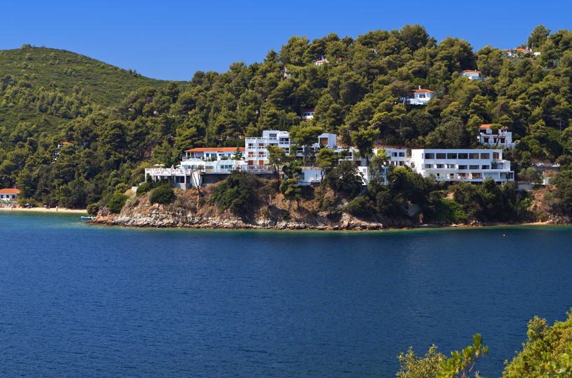 Kanapitsa coast at Skiathos