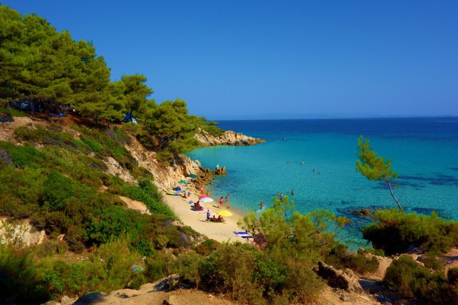 Kavourotripes Beach, Chalkidiki, Greece