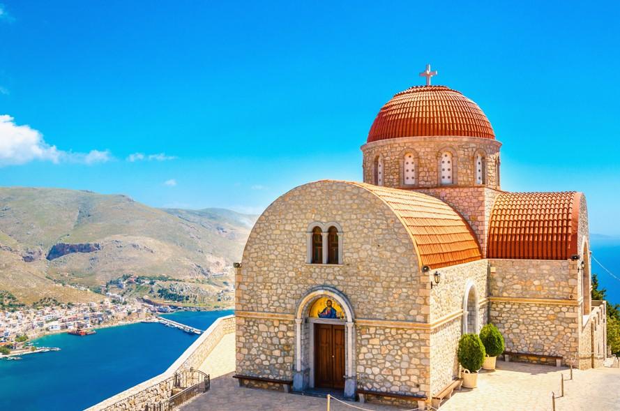 Klášter Agios Savvas, Kalymnos