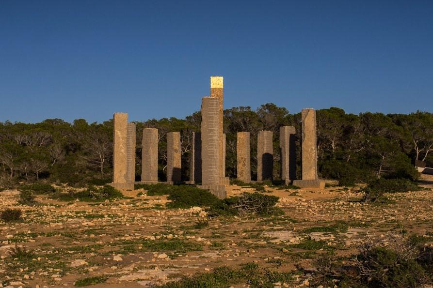 Komplex menhirů Can Soleil Ibiza