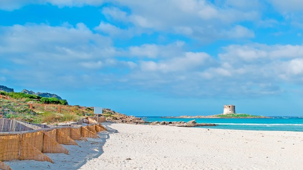 La Pelosa beach, Sardinie