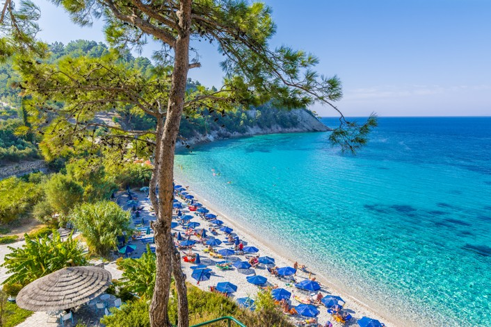 Lemonakia Beach in Samos