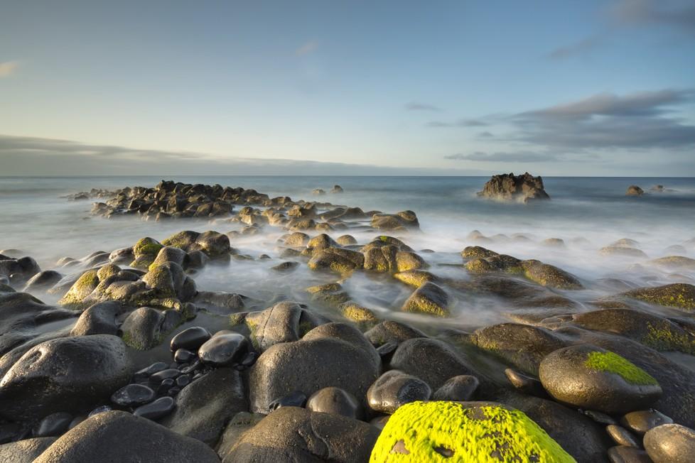 Magos beach. Caniço, Madeira