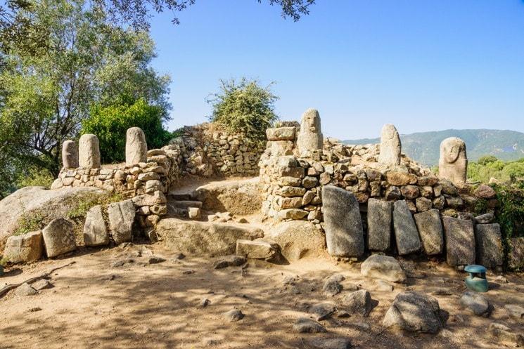 Megalitické naleziště Filitosa, Korsika
