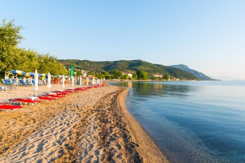 Moraitika, Korfu