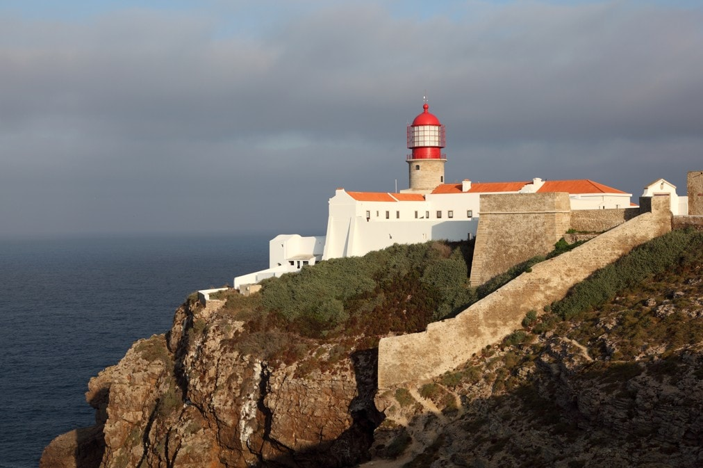 Mys a maják Cabo da Roca, Portugalsko
