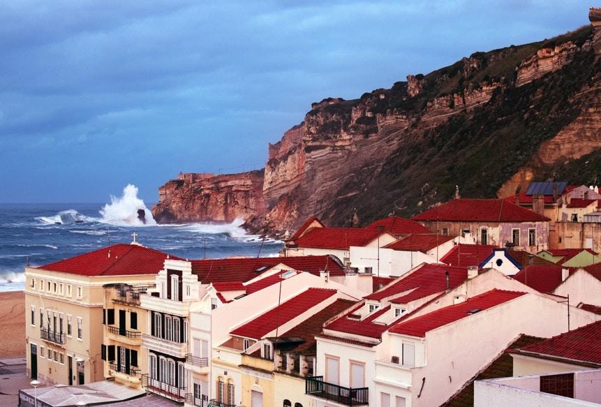Nazare, Portugalsko