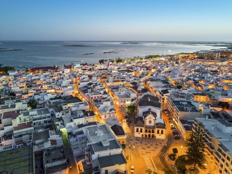 Olhao, Algarve, Portugalsko