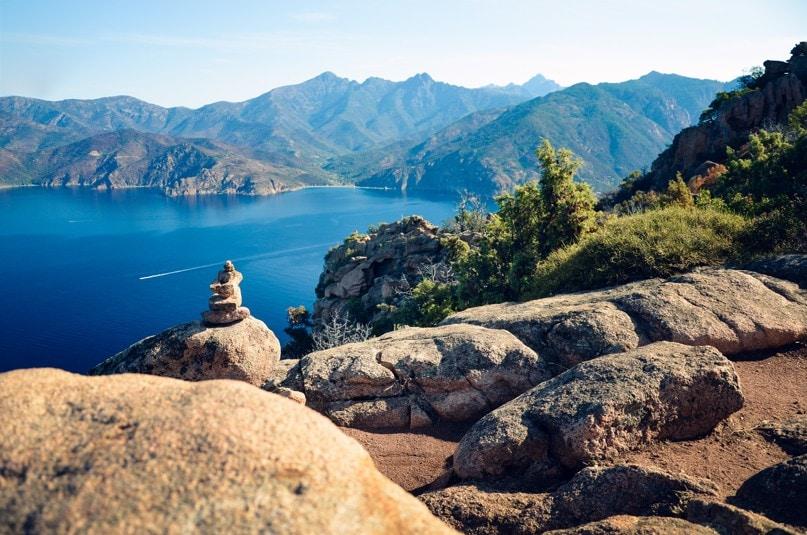 Přírodní rezervace Scandola, Korsika