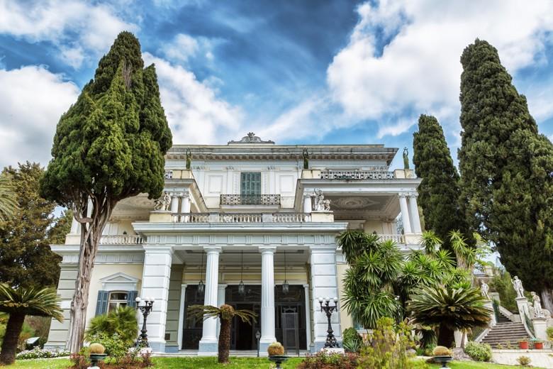 Palác Achillion, Korfu