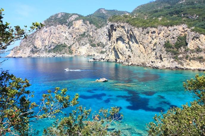 Palaiokastritsa, Korfu