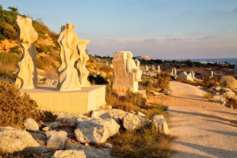 Park sochařství Ayia Napa, Kypr