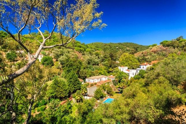 Pohoří Monchique, Portugalsko