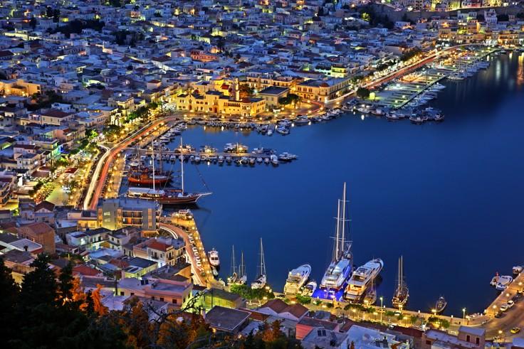 Pothia, the capital town of Kalymnos