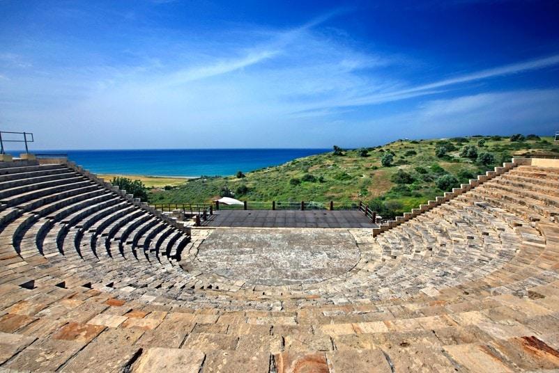 Pozůstatky města Kourion, Kypr