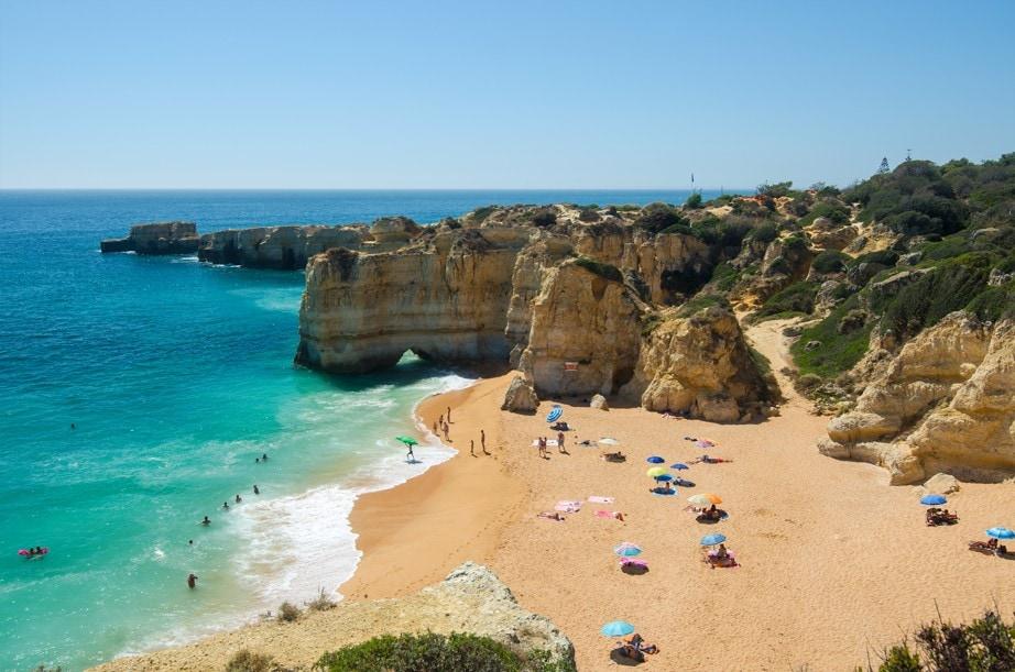 Praia da Coelha, Portugalsko