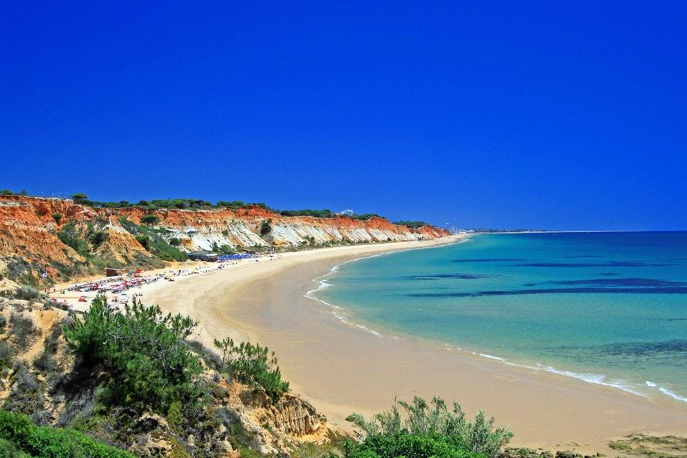 Praia de Falésia, Portugalsko