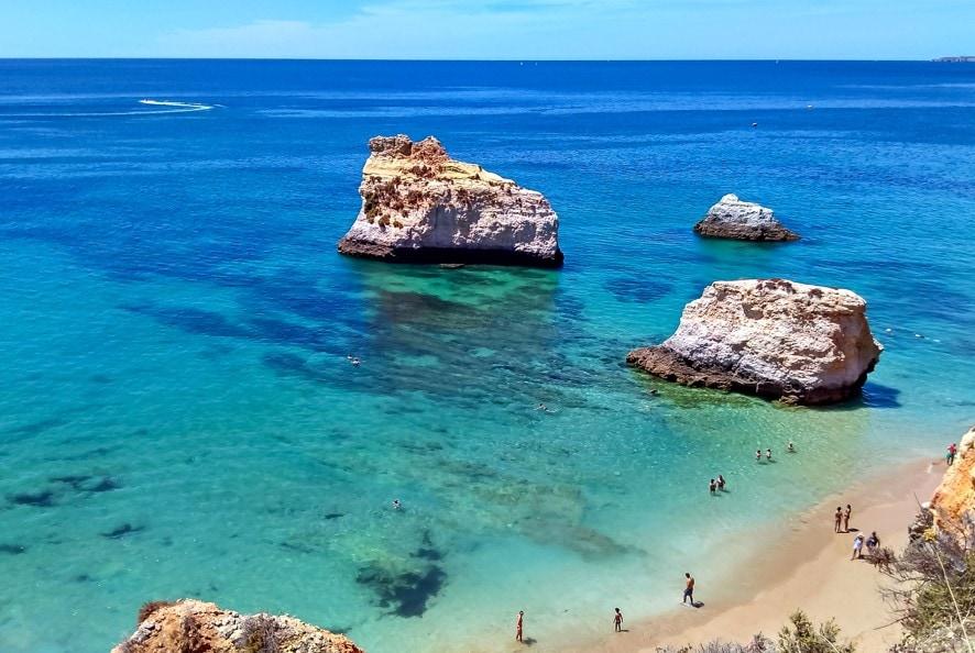 Praia de São Rafael, Portugalsko