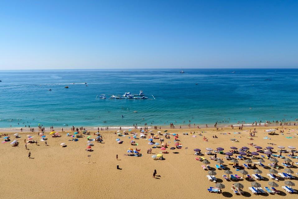 Praia dos Pescadores, Portugalsko