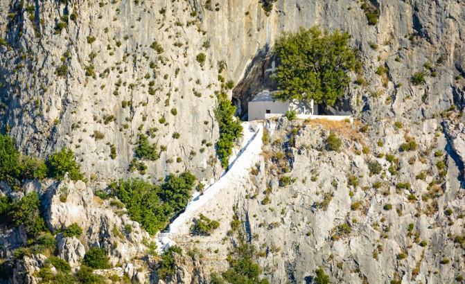 Pythagorova jeskyně, Samos