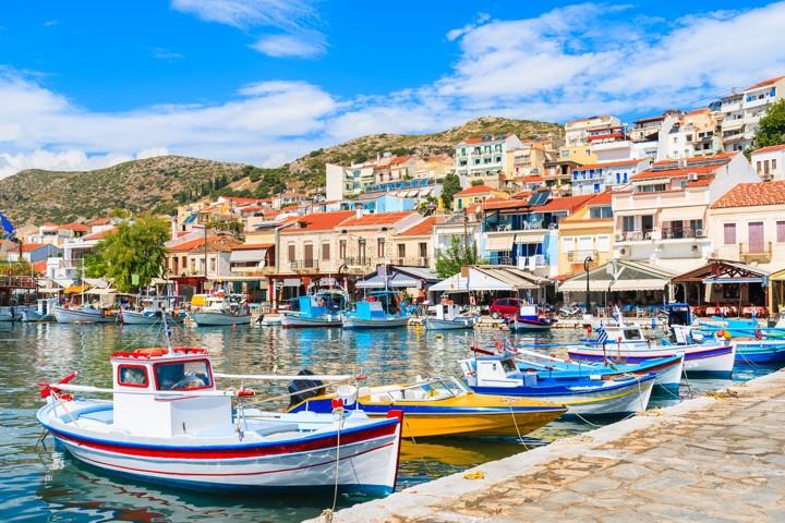 Pythagorion port, Samos