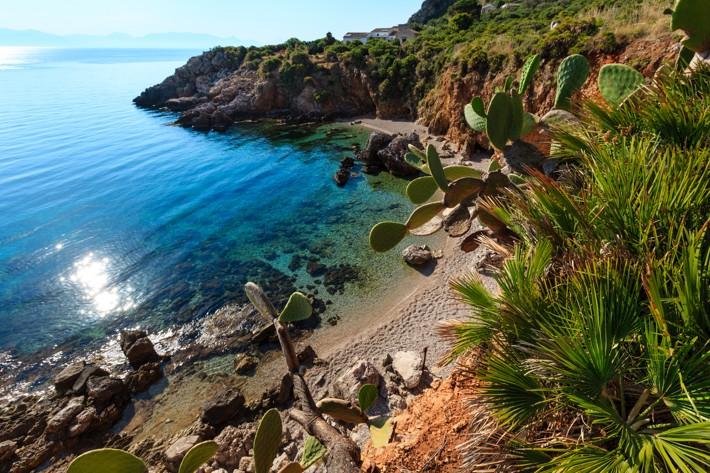 Riserva naturale dello Zingaro, Trapani, Sicílie