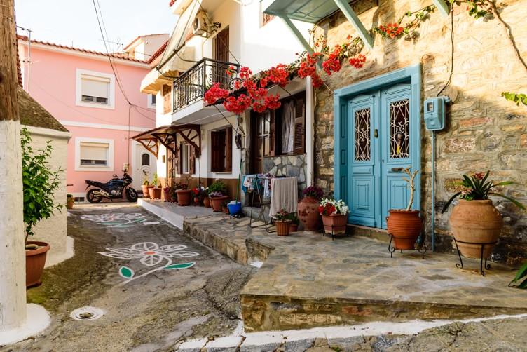 Samos town, Samos