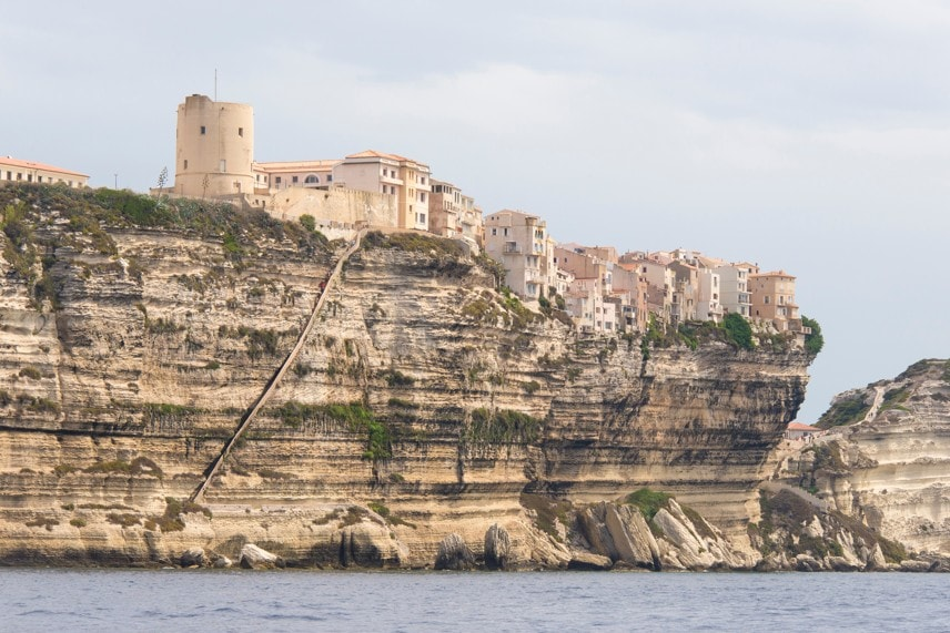 Schodiště krále aragonského (Escalier du Roi d´Aragon), Korsika