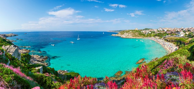 Spiaggia di Rena Bianca, Sardinie