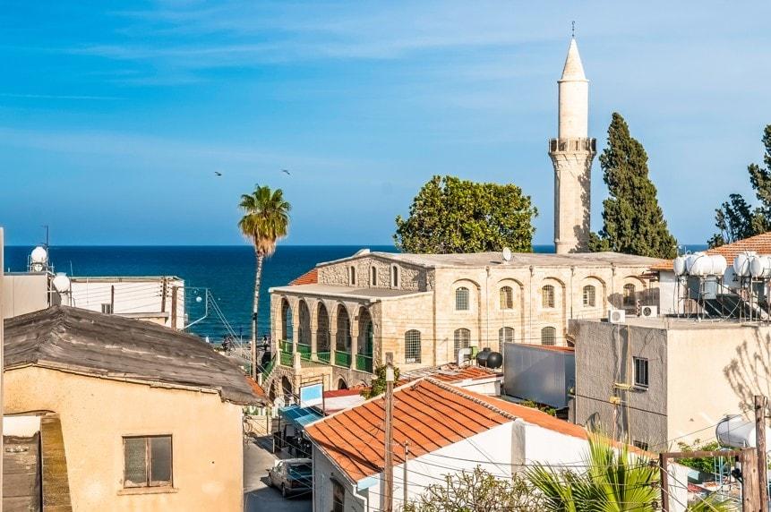 Staré město larnaca. Kypr