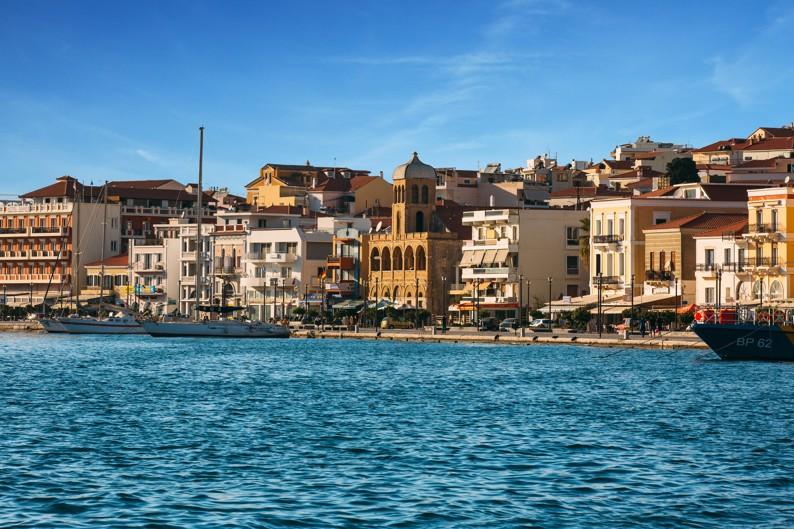 Vathy town on Samos