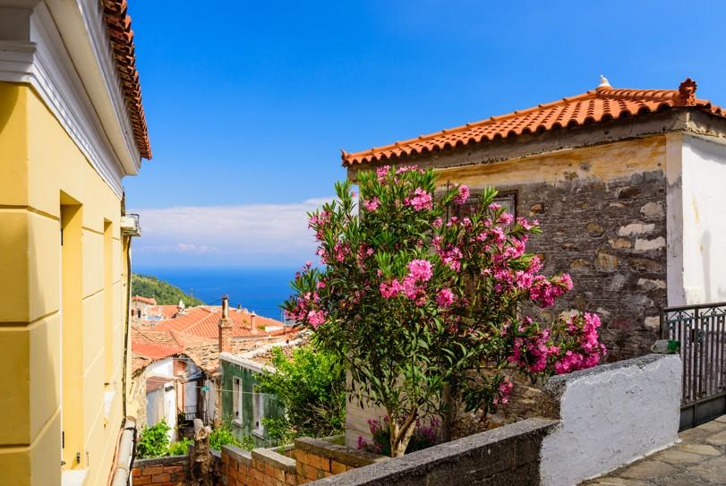 Vesnička Manolates, Samos