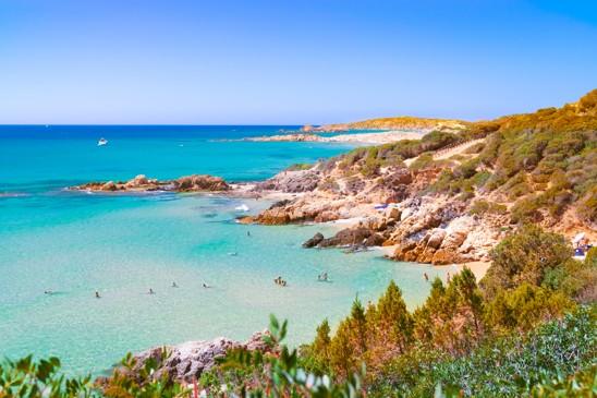 beaches of Chia, Sardinie