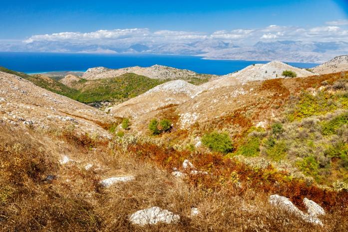 hora Pantokrator, Korfu