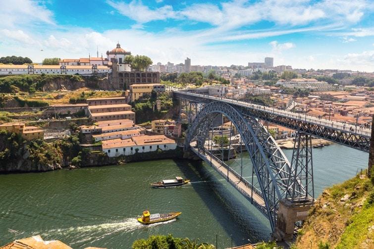 most Dom Luis, Porto, Portugalsko
