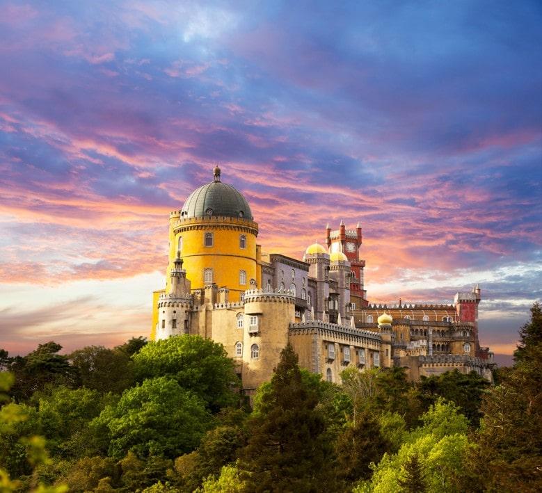 palác Pena sintra, Portugalsko
