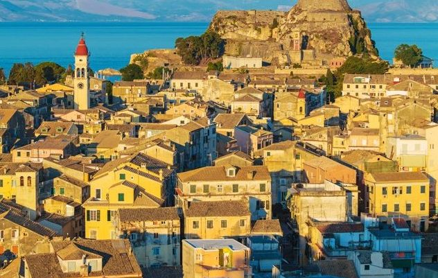 pevnost, Korfu