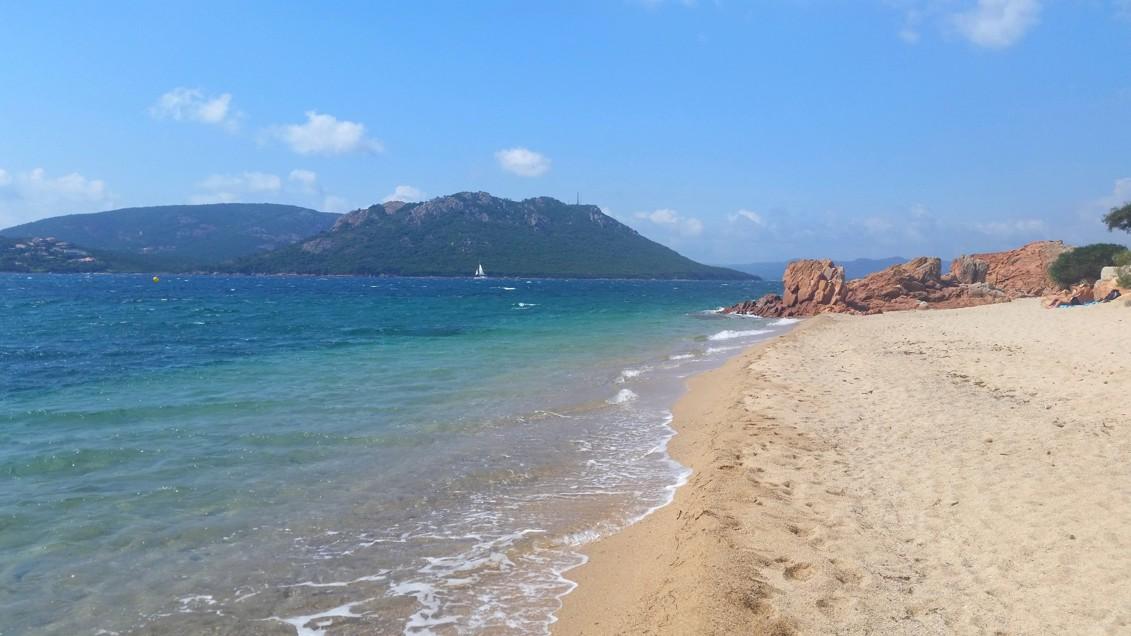 pláž Cala Rossa, Korsika