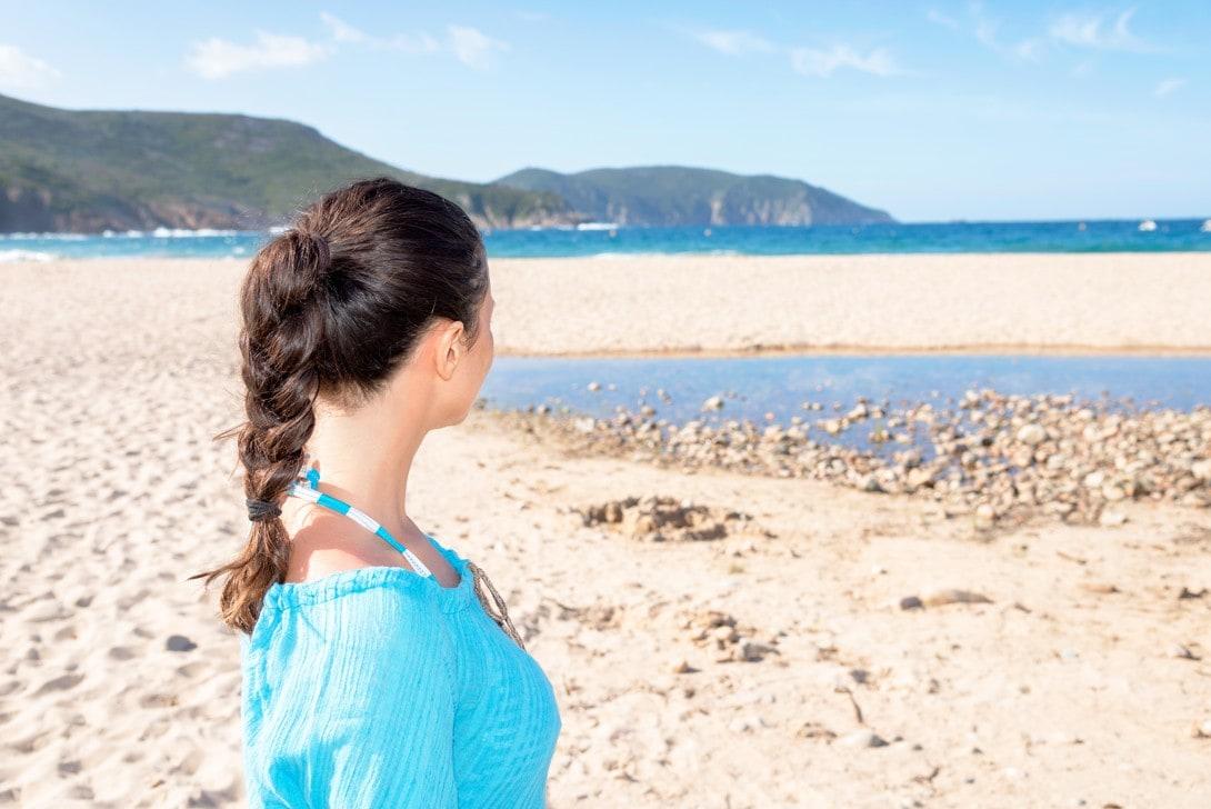 pláž D'Arone, Korsika