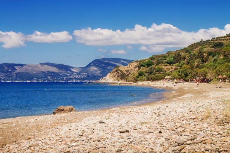 pláž Dafni zakynthos