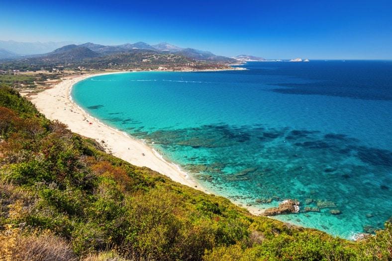 pláž Lozari, Korsika