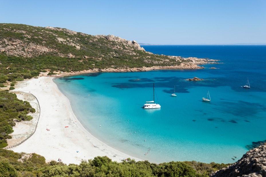 pláž Roccapina, Korsika