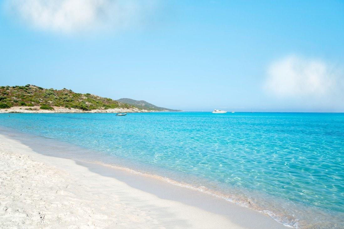 pláž Saleccia, Korsika