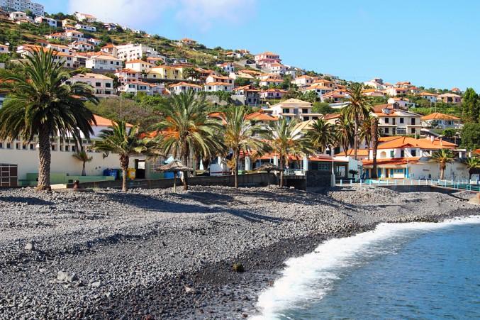 pláž Santa cruz, Madeira