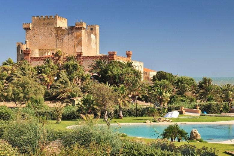 Falconara Castle in Licata. Sicilie