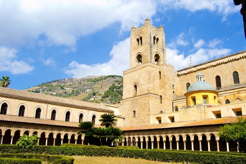 Klášter Monreale, Palermo, Sicílie