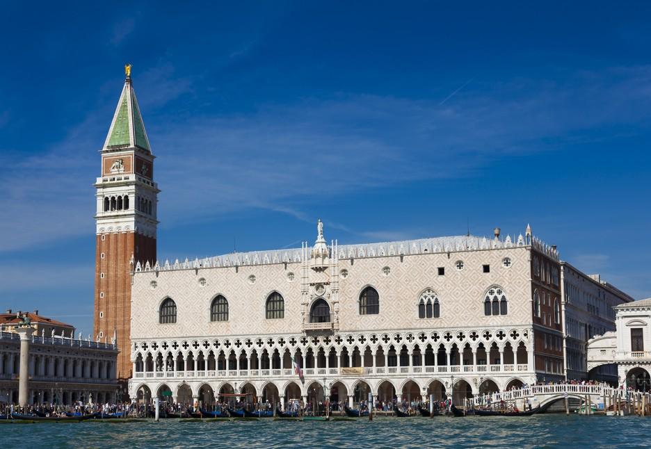 Palazo Ducale, Dóžecího paláce, Benátky