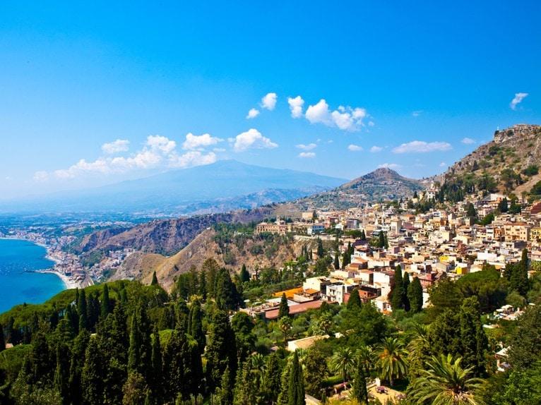 Taormina , Sicílie, Itálie