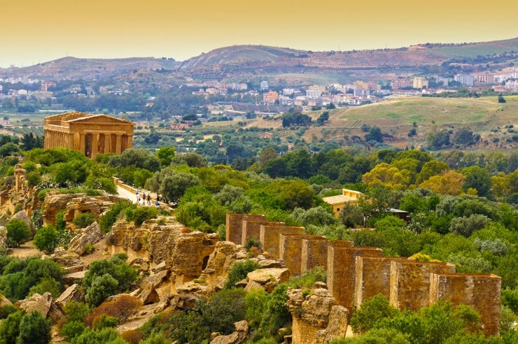 Temple of Concordia - Valley of the Temples, Agrigento, Sicílie