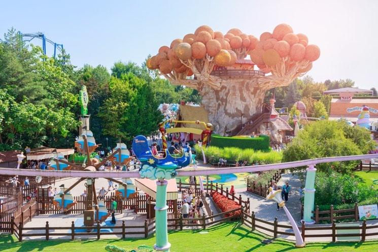 Zábavní park Gardaland, Itálie